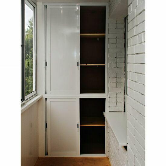 Изготовление балконных шкафов по индивидуальным заказам..